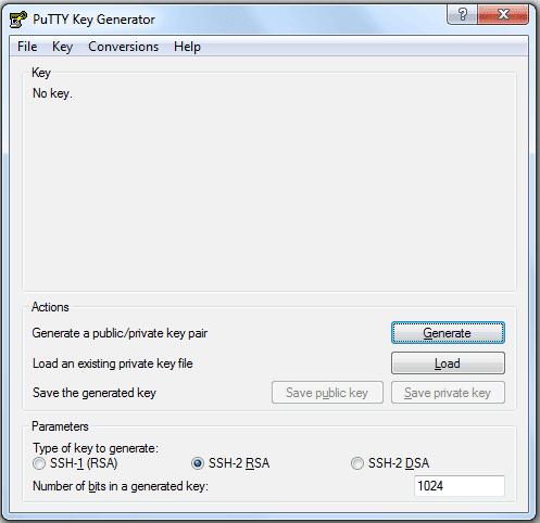 Putty Keyword Generator