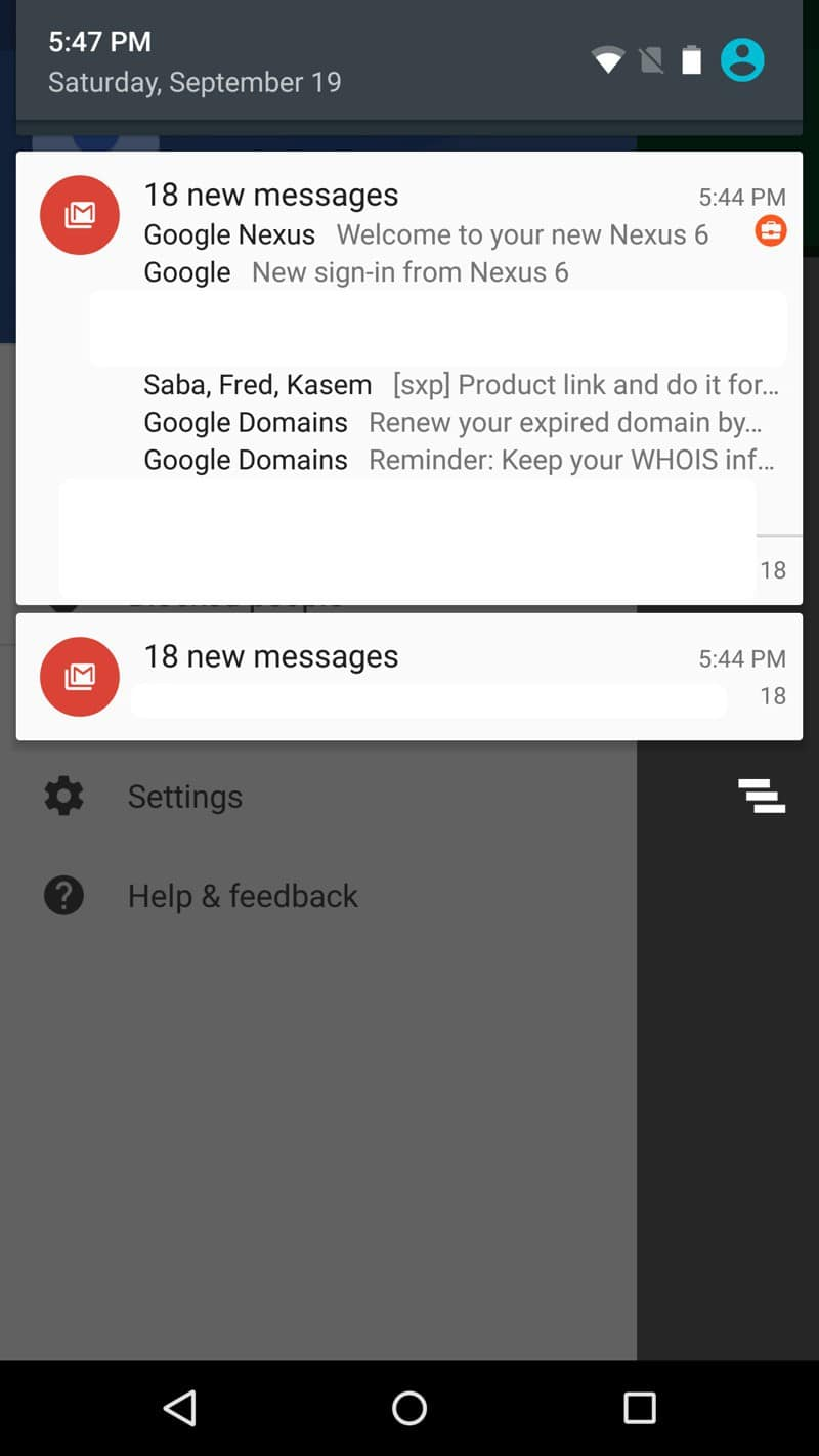 Android - Twice the notifications so you don't miss it